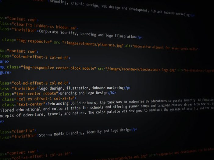 semantica html - codigo